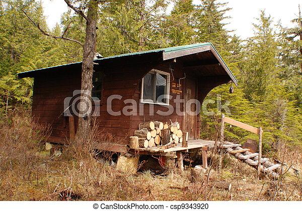 Hikers/Hunters Lodge - csp9343920