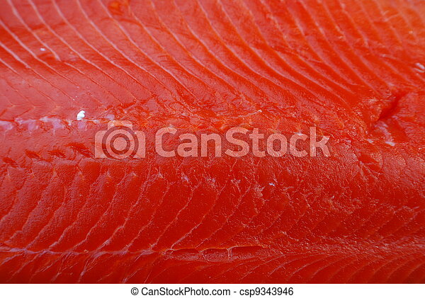 Salmon Steak - csp9343946