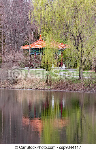 Chinese Pagoda - csp9344117