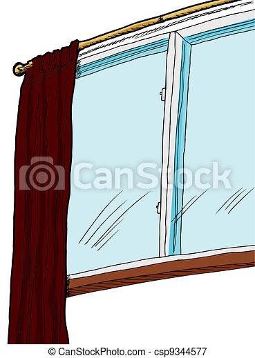 Indoor Window - csp9344577