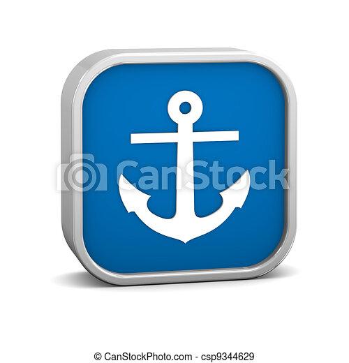 Anchor sign - csp9344629
