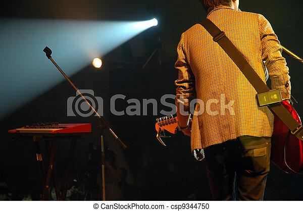 guitarist of a pop band