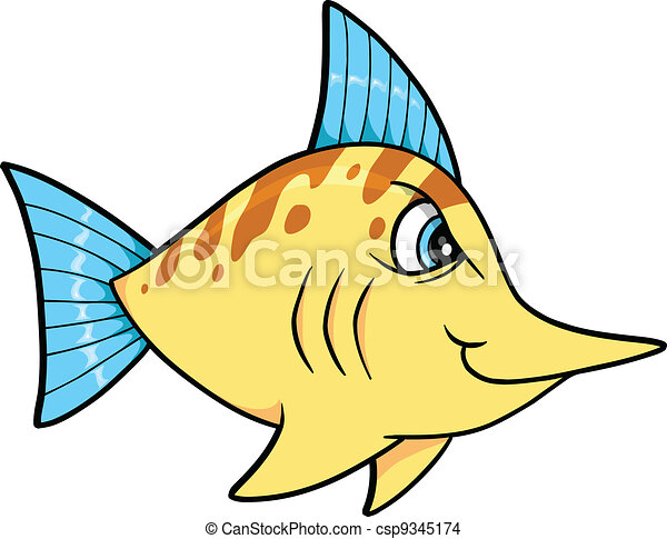 Tough Mean Fish - csp9345174
