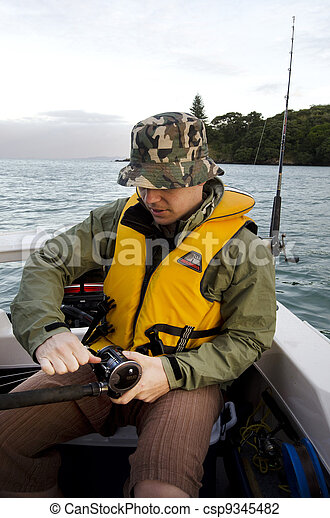 Sport and Recreation - Fishing - csp9345482