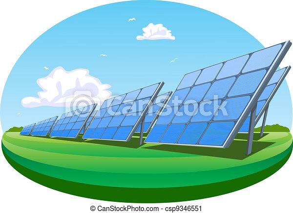 Solar panels Vector Clipart Illustrations. 6,044 Solar panels clip ...