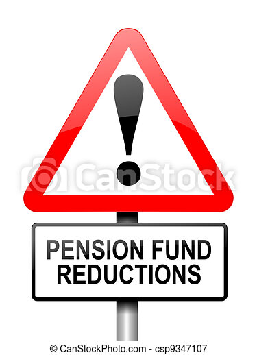 Pension fund disappointment. - csp9347107