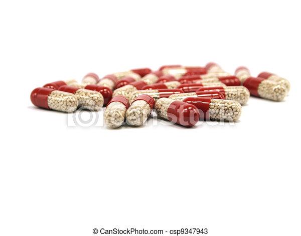 pharmaceutical capsules  - csp9347943