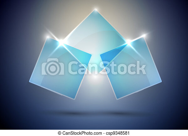 abstract Web element vector - csp9348581