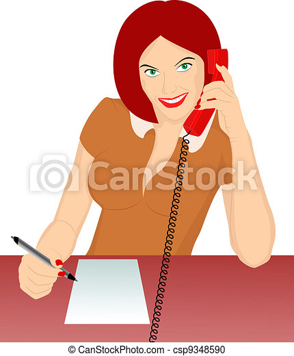 secretary - csp9348590