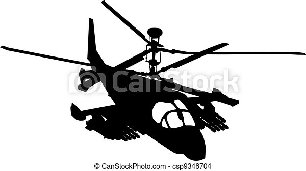 Flying helicopter - csp9348704