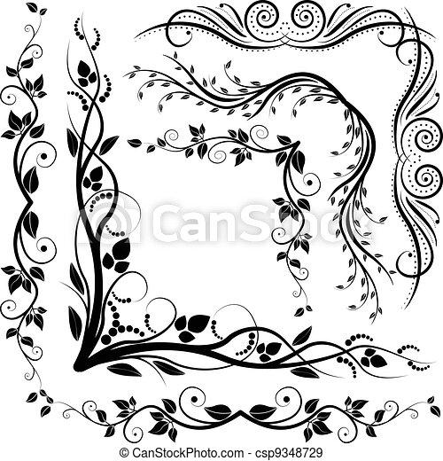 decorative corners - csp9348729
