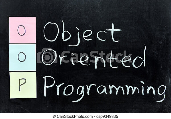 OOP, Object Oriented Programming - csp9349335