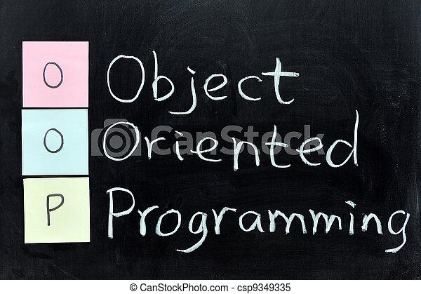 OOP, Object Oriented Programming - csp9349335