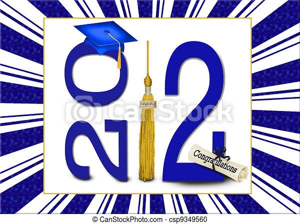 Class of  2012 Celebration - csp9349560