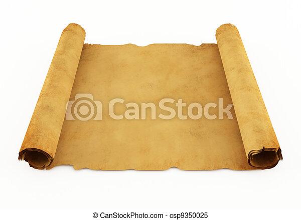 Old manuscript - csp9350025