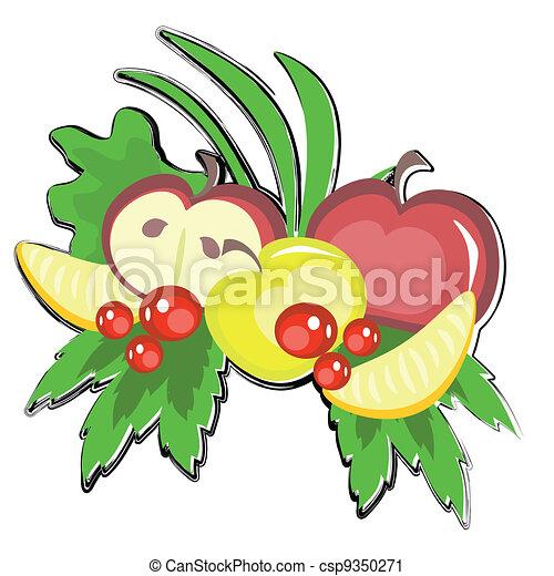 有关水果, vecorcsp9350271的矢量剪贴艺术作品-搜索