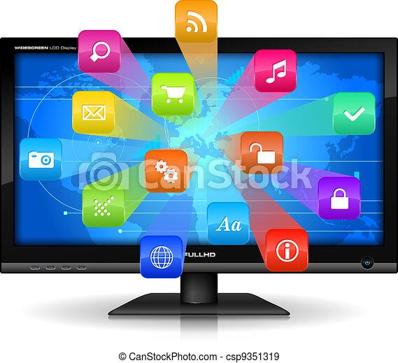Internet concept - csp9351319
