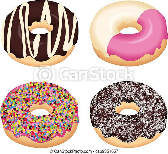 Gourmet Donuts - csp9351657