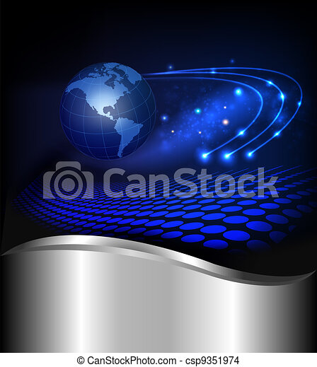 Abstract technology background - csp9351974