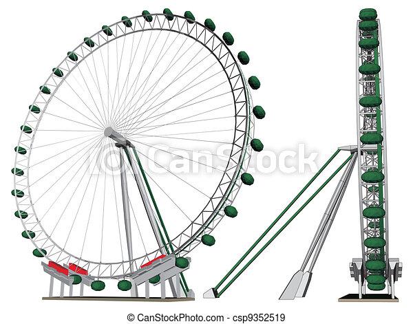 Carousel  - csp9352519