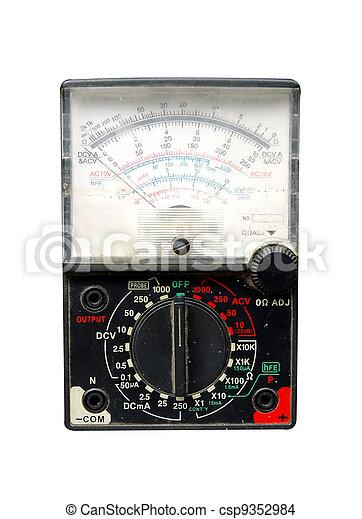 volt meter - csp9352984