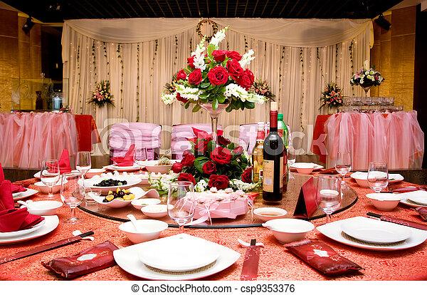 Wedding Banquet - csp9353376