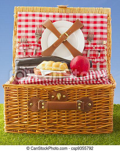 Picnic basket - csp9355792