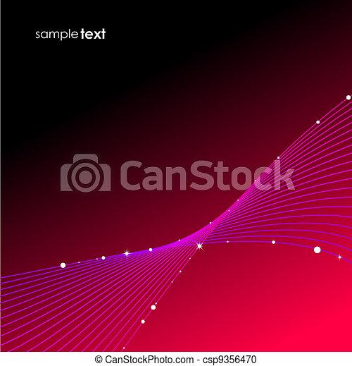 Blend wave background - csp9356470