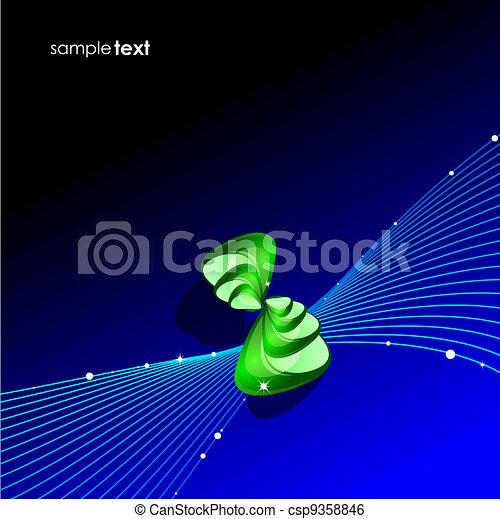 Blend wave background - csp9358846