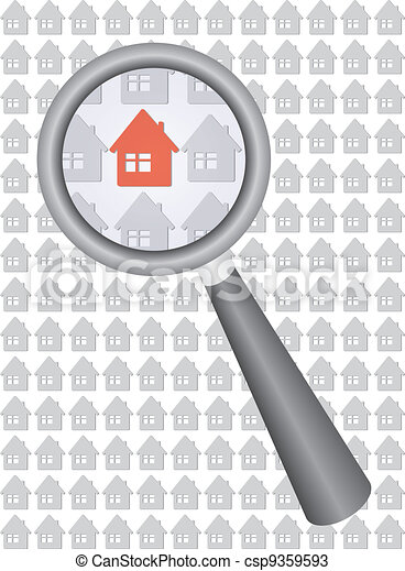 find your house - csp9359593