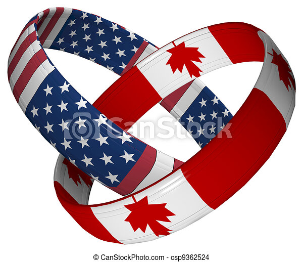 USA and Canada - csp9362524