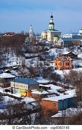 historical district at Vladimir - csp9363145