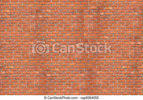 Wall of a house from a red brick. A background