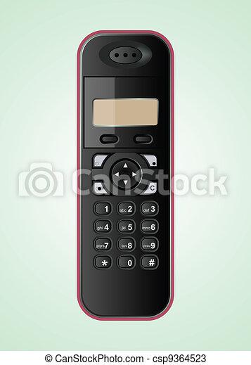 wireless vector phone - csp9364523