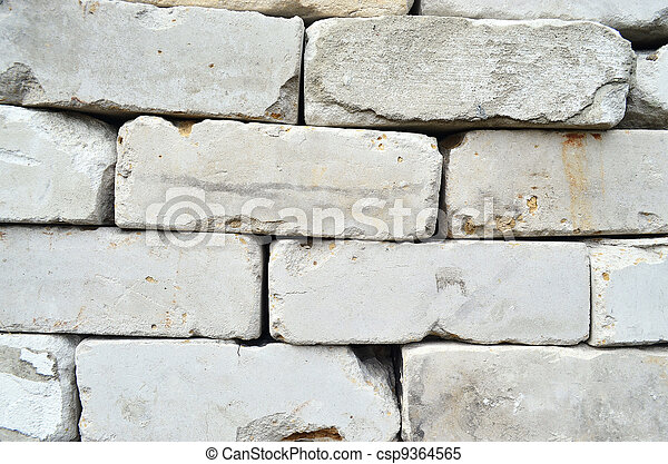 The old silicate brick. - csp9364565