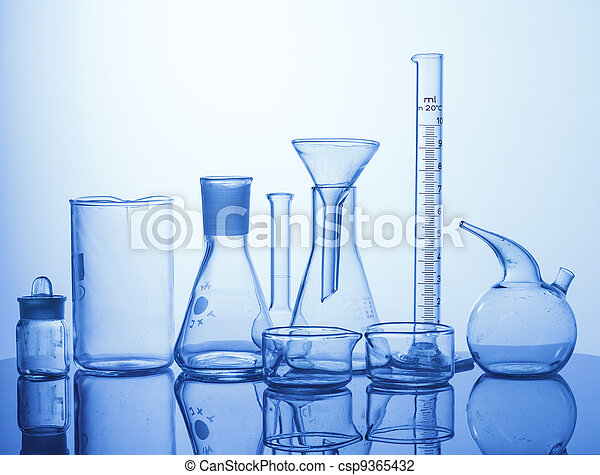 Lab assorted glassware equipment - csp9365432