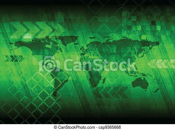 Abstract technical background - csp9365668
