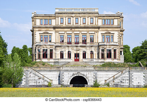 Old historic big house - csp9366443