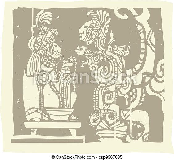 Maya Priest Vision - csp9367035