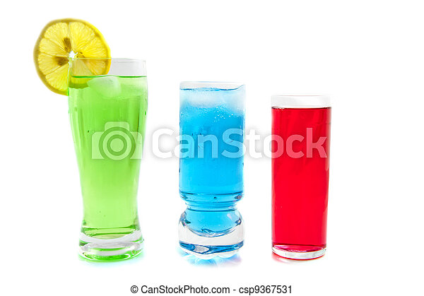 Cold drinks - csp9367531