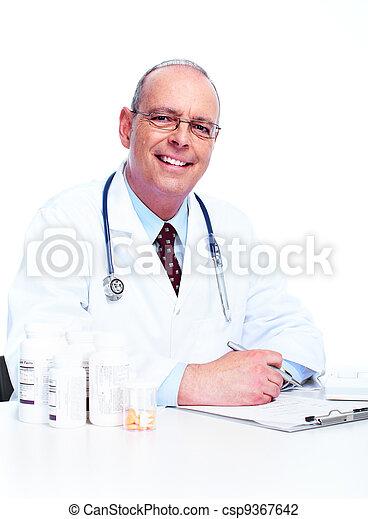 Doctor physician. - csp9367642