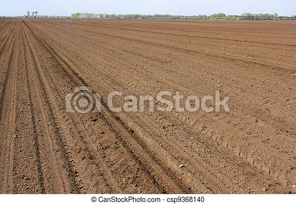 Cultivated soil - csp9368140
