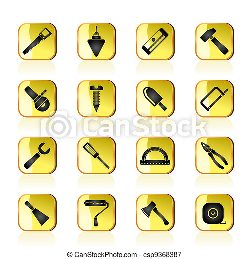 Construction and Building icons - csp9368387