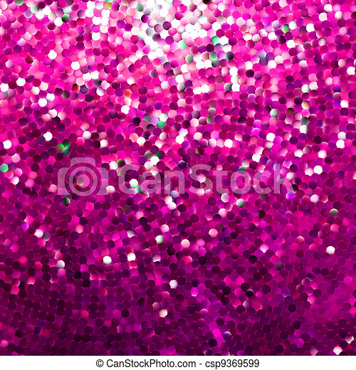 Amazing template design on pink glittering. EPS 8 - csp9369599