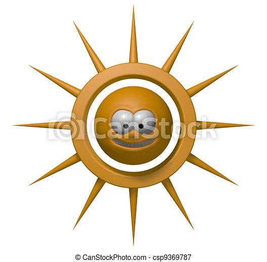 grin sun - csp9369787