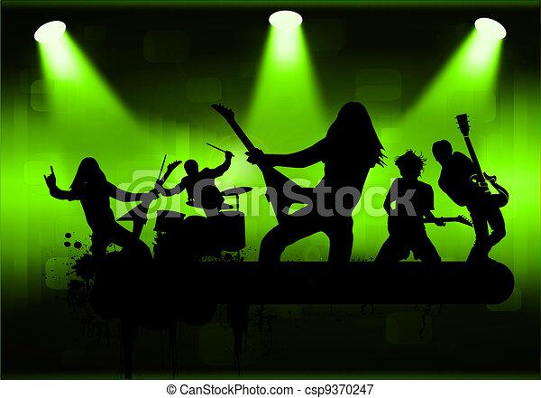 Rock band Vector Clipart Illustrations. 6,188 Rock band clip art ...