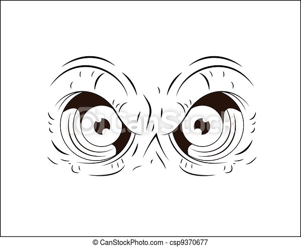 Similar Galleries: Spooky Eyes Clip Art , Angry Cartoon Eyes ,