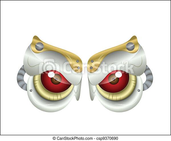 Predator Eyes - csp9370690