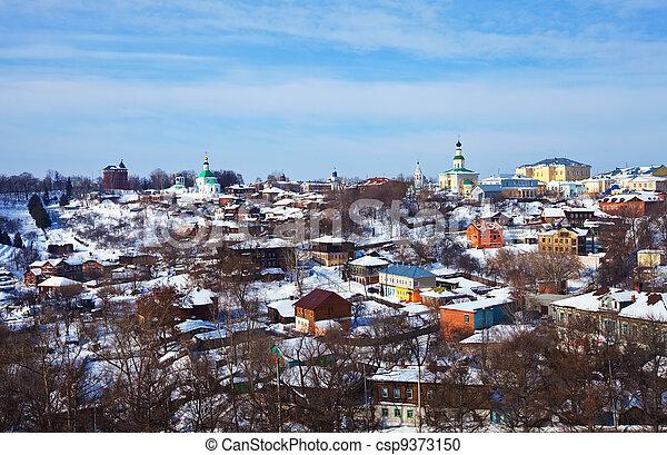 historical district at Vladimir   - csp9373150