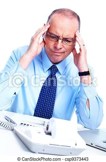 Accountant businessman. - csp9373443